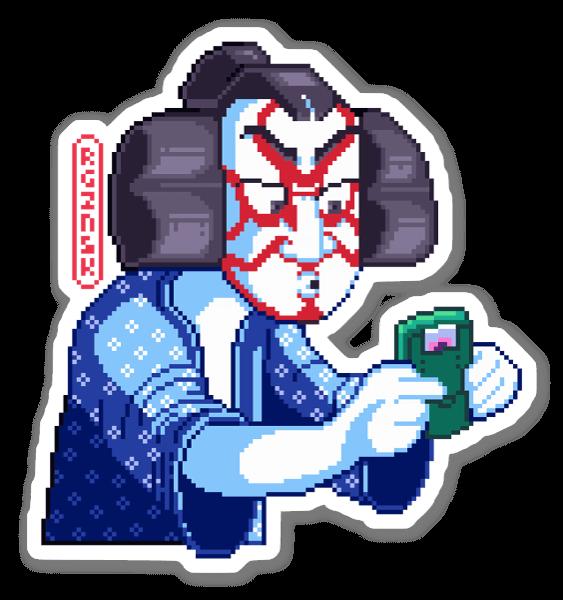 Kabuki Boy sticker