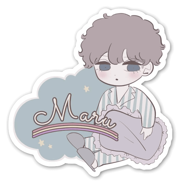 Maru sticker