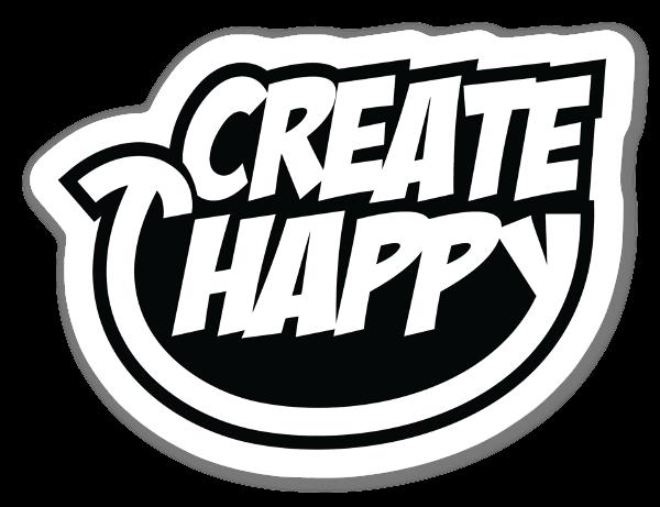 Create happy sticker