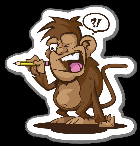 Mono pegatina