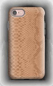 coque iphone 7 rose beige