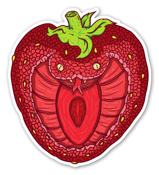 Cobra Berry  sticker