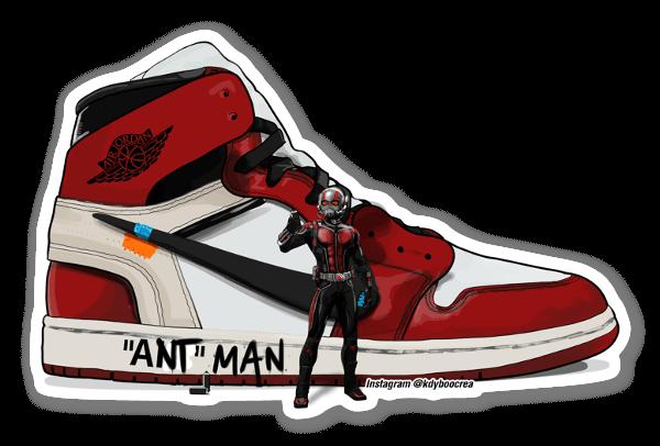 """Ant"" man  sticker"