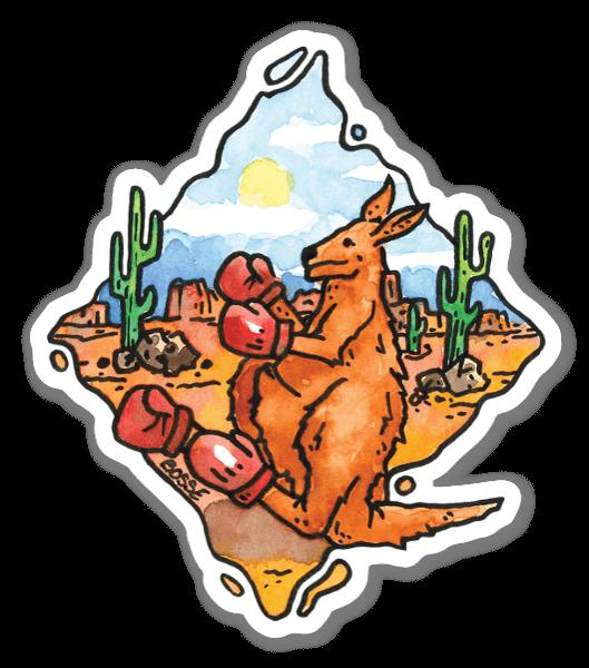 Boxer Kangaroo sticker