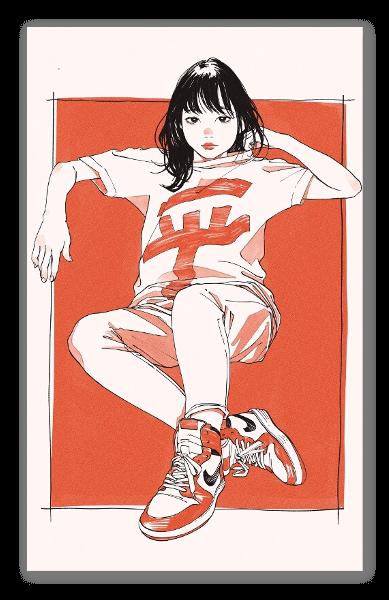 平成ガール ステッカー