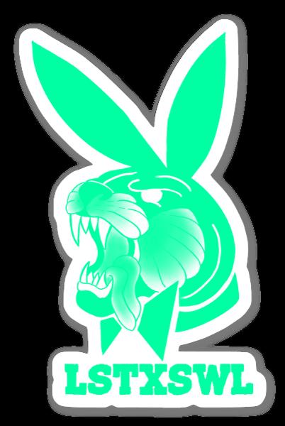 Fierce Bun Seafoam Green sticker