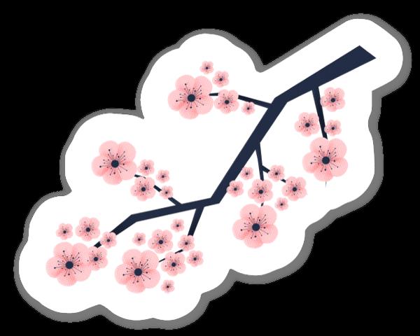 Sakura naklejka
