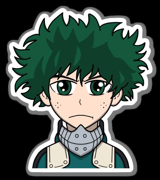 Deku hero Suit sticker