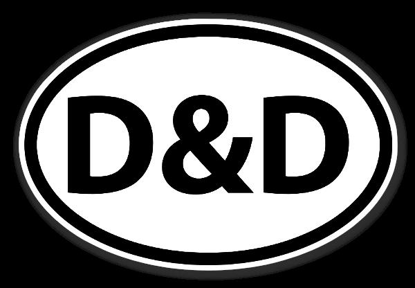 D&D ステッカー