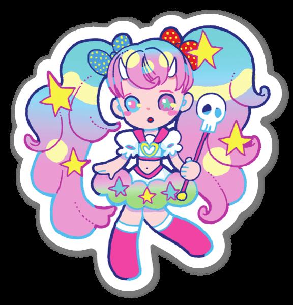 Kawaii Girl sticker