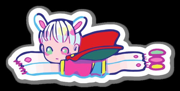 Petit Hero sticker