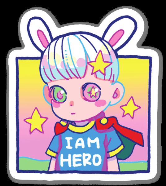I Am Hero sticker