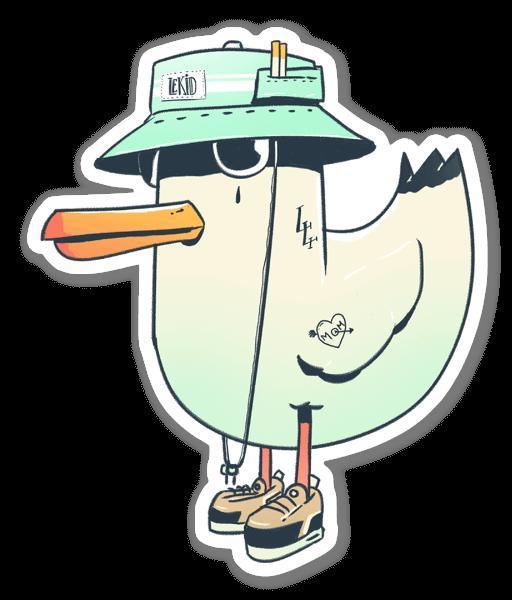 SeaGull Gang sticker