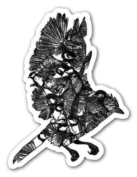 Birdy nam nam sticker