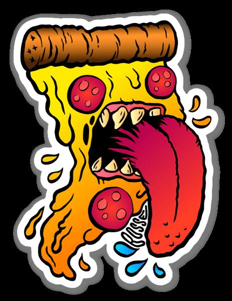 ハングリーピザ ステッカー