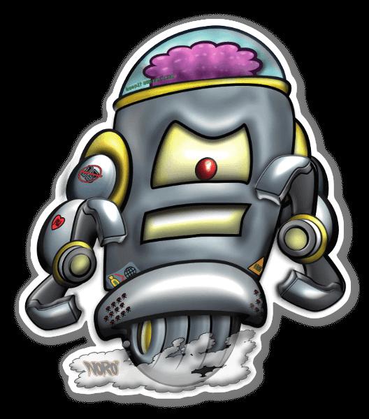 Bot$ sticker