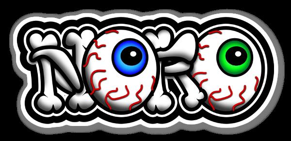 Noro Bone sticker
