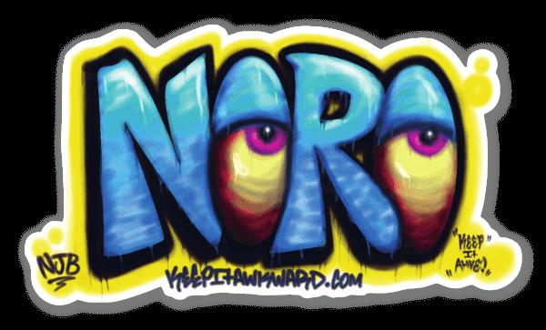 Noro Rad Wall sticker