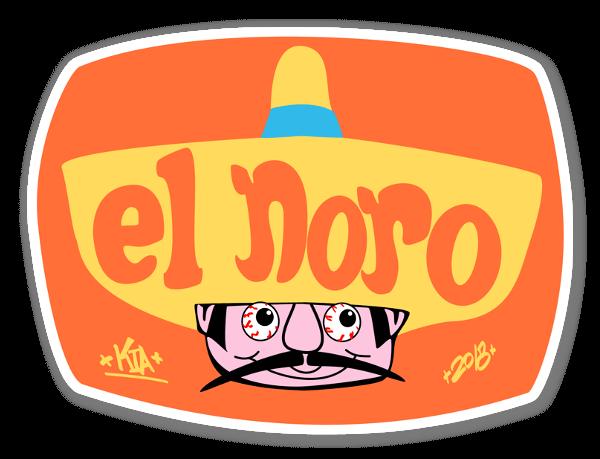 El Noro sticker