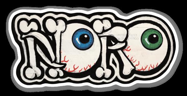 Noro Bone Throwback sticker