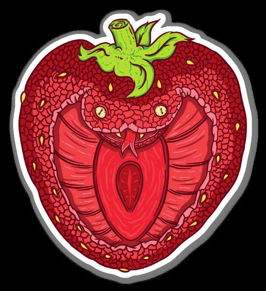 Cobraberry sticker