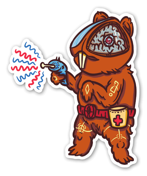 Medi Pig sticker