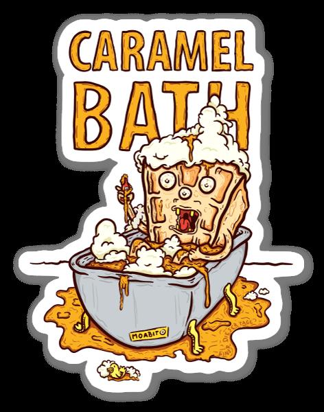 Karamellbad sticker