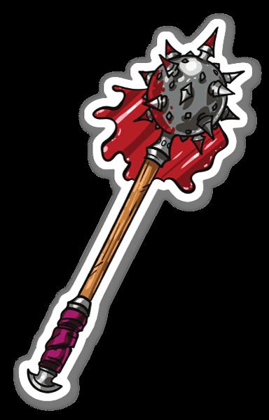 Blodigt Vapen sticker
