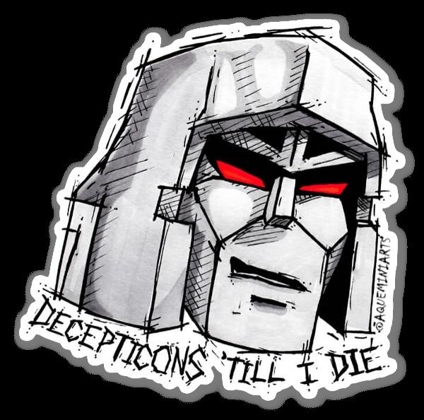 Decepticons 'Till I Die sticker
