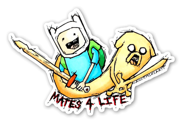 Mates 4 Life sticker