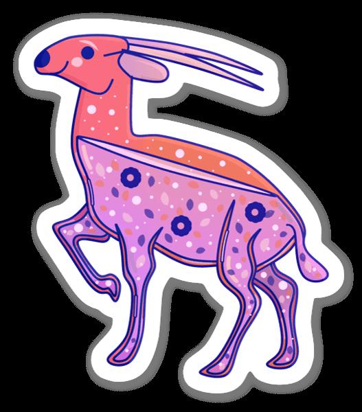 Rosa Saola sticker