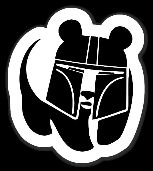 Pandalorian  ステッカー