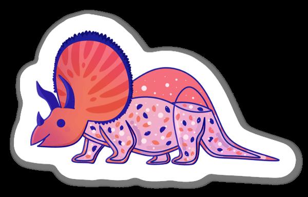 Gullig Dinosaurie sticker