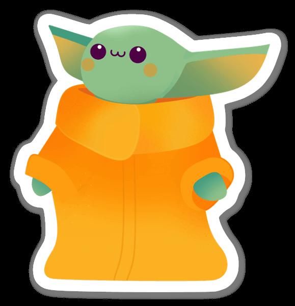 Star Wars baby sticker