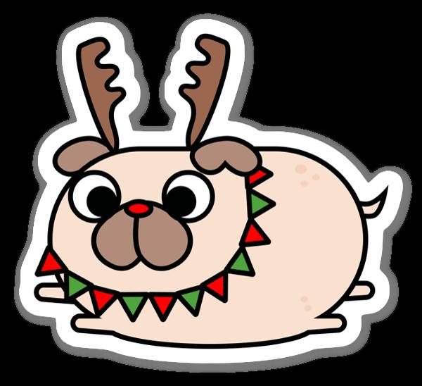 Julmops sticker