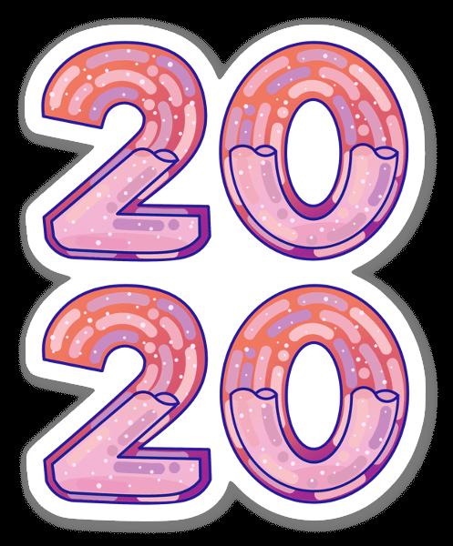 2020 sticker