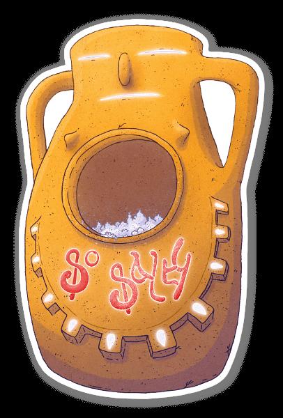 Salty McSaltFace tarra