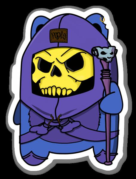 Skeletewok sticker