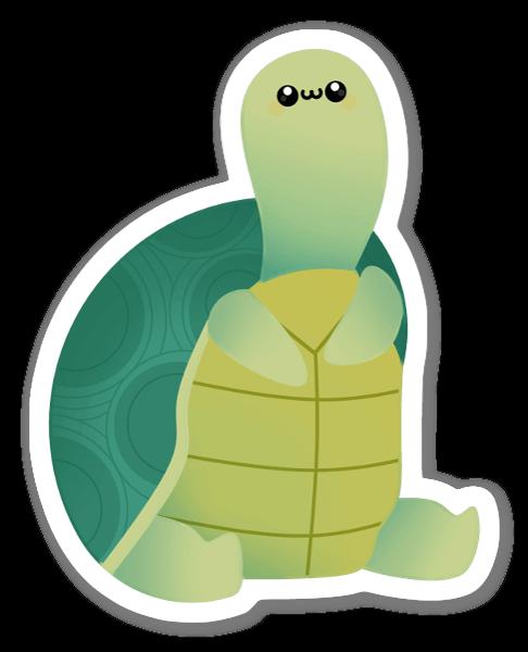 Sköldpadda sticker