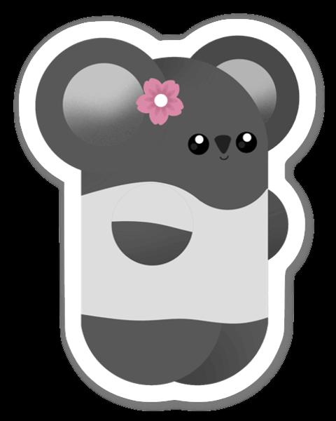 Söt Koala sticker
