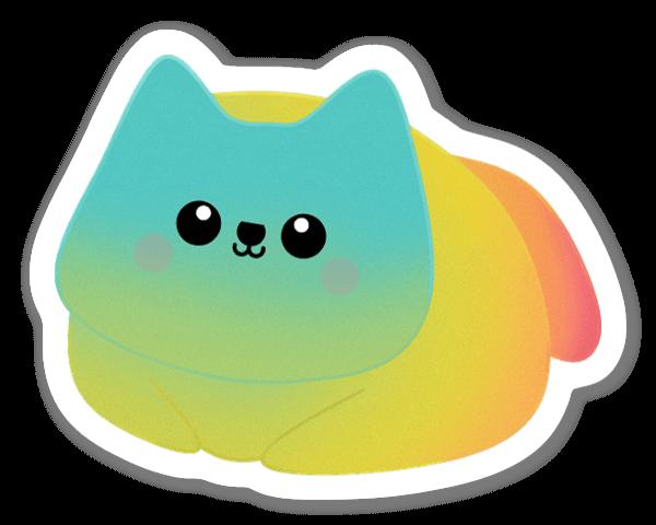 Stilla Katt sticker