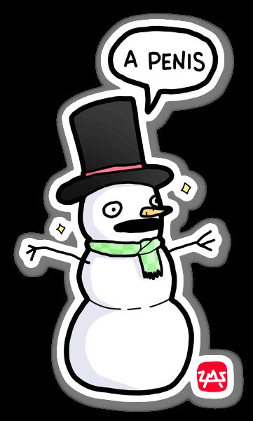 Lumiukon toive tarra