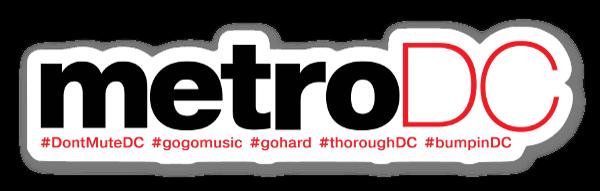 Don't Mute DC (metroDC) sticker