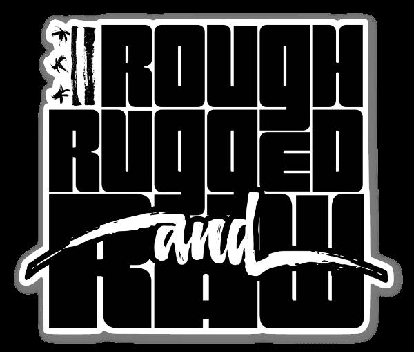 RoughRuggedRaw ステッカー