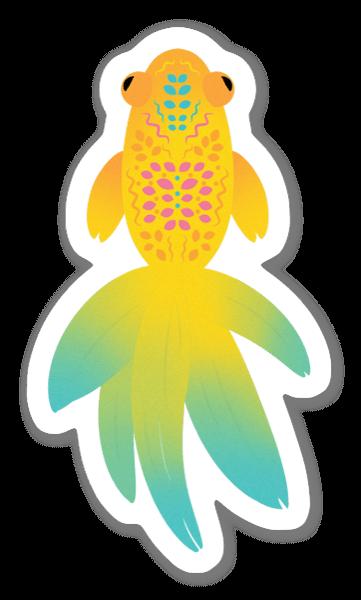 Kultakala tarra