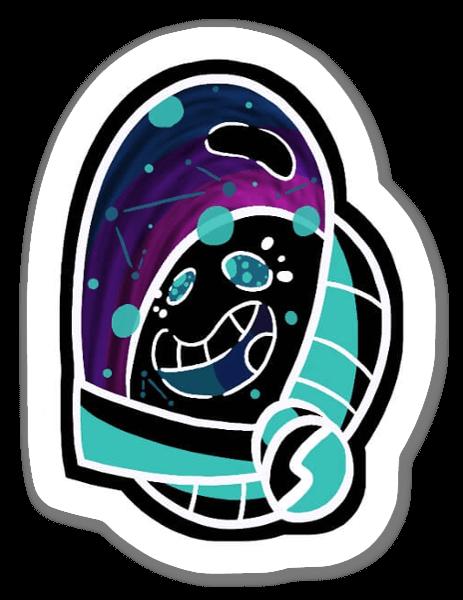 Kosmiczny cud naklejka