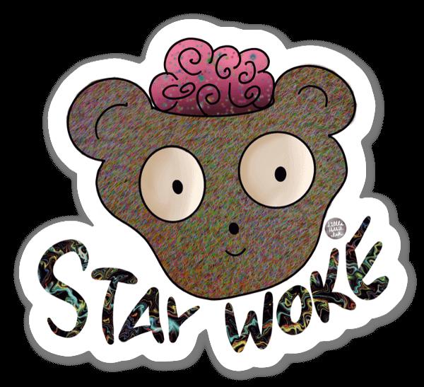 Stay Woke naklejka