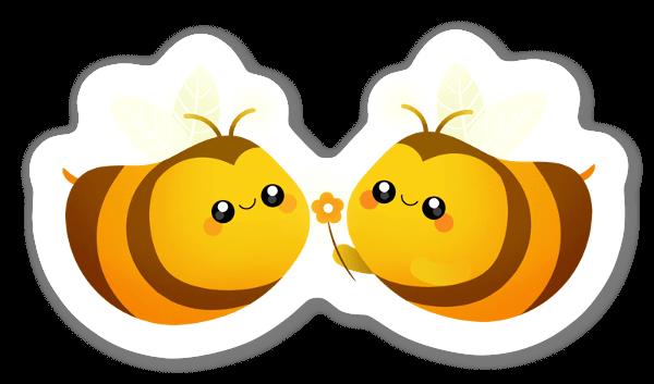 Pszczółka naklejka