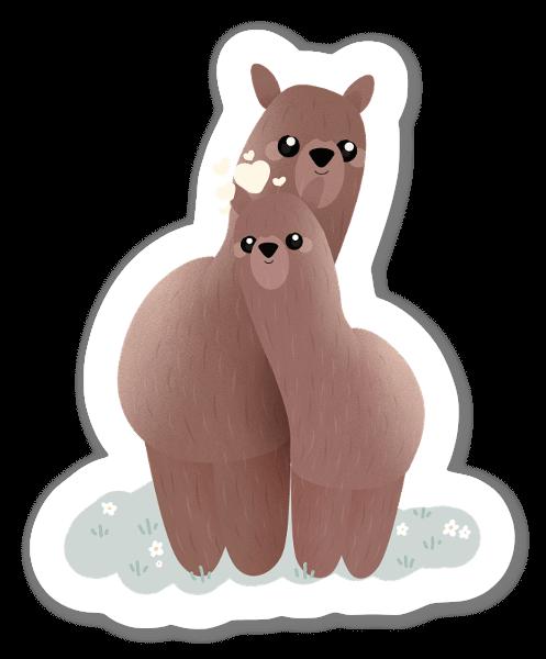 Alpacka & Lama sticker