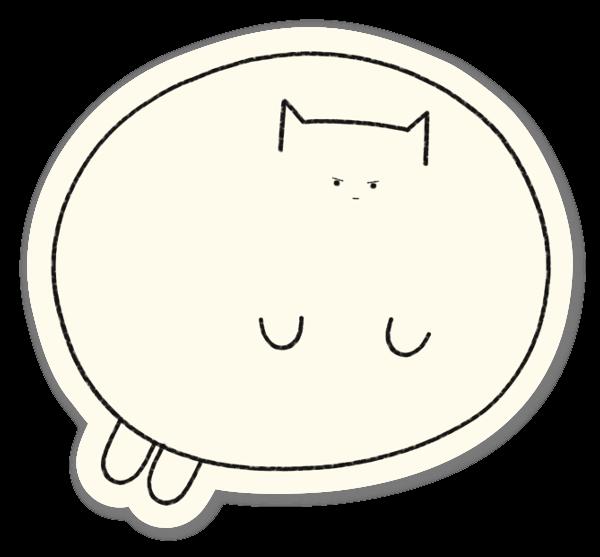 Cannonball sticker